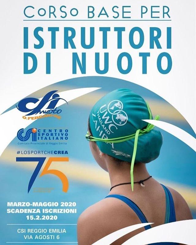 Corso Istruttori di nuoto 2019 | CSI Nuoto Reggio Emilia